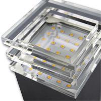 LED Leuchte mit 30 warmweißen SMD LEDs und 8W