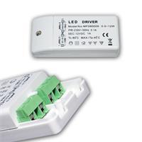 MR11 LED Strahlerset für 12V DC mit nur 2W Verbrauch hier der Trafo + Anschluss