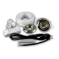 LED Einbauspot MR11 Komplettset für 56mm Einbaudurchmesser