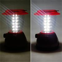 Dimmbare Akku-Laterne mit kaltweißen LEDs