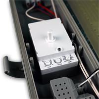 LED Industrieleuchte mit seitlicher Kabeleinführung