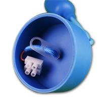 Lampensockel E27 mit Schraubklemmen für den Kabelanschluss