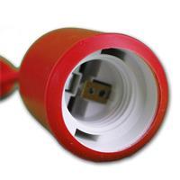 stilvolle Deckenaufhängung für Leuchtmittel mit einem E27 Gewinde