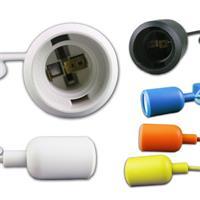 E27 Lampenaufhängung aus Silikon in verschiedenen Farben