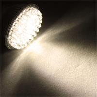 LED Leuchtmittel MR16 mit 132lm Lichtstrom und der Lichtfarbe warm weiß