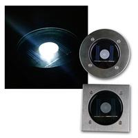 Solar LED floor spotlight CTB| round/square| twilight sensor