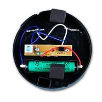 LED Bodenstrahler leuchtet kaltweiß und ist als runde oder eckige Variante erhältich