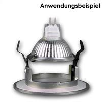 Deckeneinbaurahmen perfekt für alle 50mm MR16 Leuchtmittel