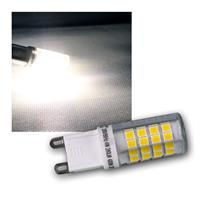 LED Stiftsockel G9 neutralweiß 4W 280lm 4200k 330°