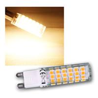 LED Stiftsockel G9 warm weiß 6W 540lm 3000k 330°
