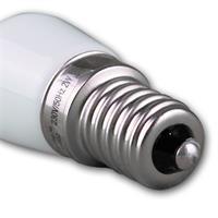 LED Leuchtmittel für den Kühlschrank Sockel E14 mit nur ca. 2W Verbrauch für 230V