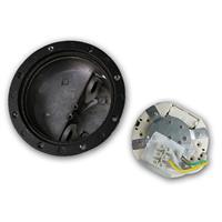 LED Uplight IP65 für GX53 Leuchtmittel bis 25W und seitlichem Kabelanschluss