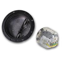LED Uplight IP65 für 230V mit ca. 3W Verbrauch und seitlichem Kabelanschluss