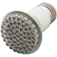 LED Glühbirne mit 60x4,8mm LEDs in Halogenoptik und Vollglasgehäuse