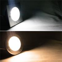 LED Bodeneinbauleuchte in eckig/rund und warm/kaltweiß