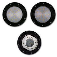 LED Bodeneinbauleuchte in 2 Formen und 2 Lichtfarben