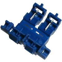 1x fuse holder blue, automotive fuses 1.5-2.5mm²