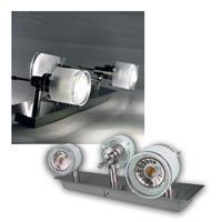 "COB LED Deckenstrahler ""GBA"" 3er daylight 420lm 5W"