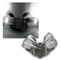 "COB LED Deckenstrahler ""GBA"" 4er daylight 250lm 3W"