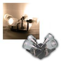 """COB LED Deckenlampe """"GBA"""" 4er warmweiß 400lm 5W"""