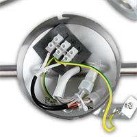 LED Wandleuchte GBA Anschluss an 230V
