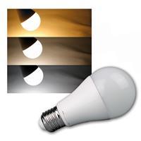 E27 LED Birne TRIColor 1100lm 12W Leuchtmittel