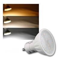 LED Strahler TRIColor | 230V/5W | 400lm | GU-10 | 120°