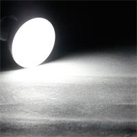 GU10 LED Strahler mit der Leuchtfarbe kalt weiß