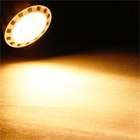 GU10 LED Leuchtmittel dimmbar Leuchtfarbe warm weiß und starken 345lm