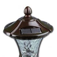 Solar LED Wegeleuchte Antik mit liebevollem Design