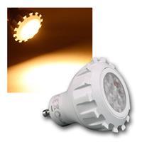 Strahler GU10 8W 430lm DIMMBAR, COB LED warmweiß