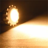 GU10 LED Leuchtmittel dimmbar Leuchtfarbe warm weiß und starken 430lm