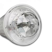 LED Glühbirne mit automatischer Rotation der Lichtkugel