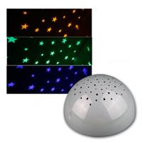 Battery night light, RGB LED, touch function, gray