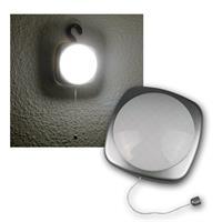 LED-Schrankleuchte silber, Schnurschalter & Haken
