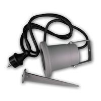 Gartenlampe CT-GS10, GU10 230V mit Haltebügel und Erdspieß