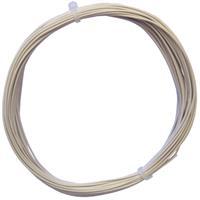 10m Litze flexibel weiß 0,14mm² - Ø1,1mm