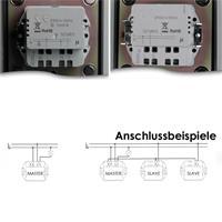 Touchless Schalter MASTER oder SLAVE zum Anschluss an 240V/ 10A