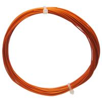 10m Litze flexibel orange 0,14mm² - Ø1,1mm