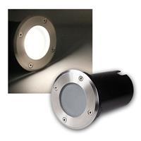 "Bodeneinbaustrahler ""R"" 5W COB LED daylight 420lm"
