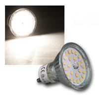 "LED Strahler GU10 ""H55 SMD"" 120° 420lm daylight 5W"