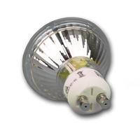 LED Glühbirne mit Sockel GU10 für 230V und nur ca. 5W Verbrauch
