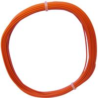 10m Litze flexibel orange 0,25mm² - Ø1,3mm