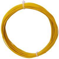 10m Litze flexibel gelb 0,25mm² - Ø1,3mm