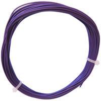 10m Litze flexibel violett 0,25mm² - Ø1,3mm