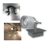 COB LED ceiling spotlight GBA| 1-4 flames, GU10 | 3/5W, 230V