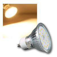 GU10 Strahler | 4,5W/230V | warmweiß | SMD LED | 410lm