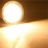 GU10 LED Leuchtmittel mit der Leuchtfarbe warm weiß