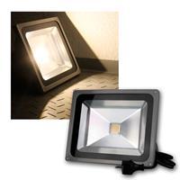 LED Flutlichtstrahler 50W 230V warmweiß 3500lm