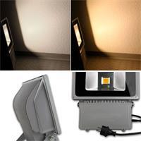 LED Flutlichtstrahler, die in warmweiß oder daylight strahlen